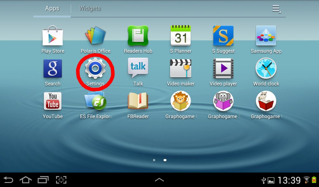 play store for galaxy tab